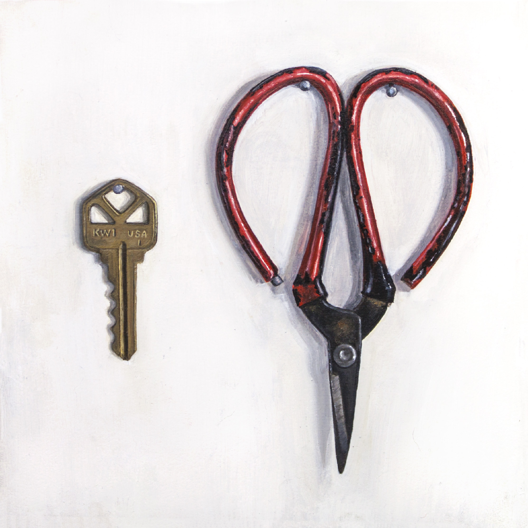 Teeth and Nails: Key and Scissors