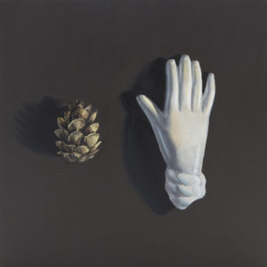 The Little Things: Pinecone and Ceramic Hand